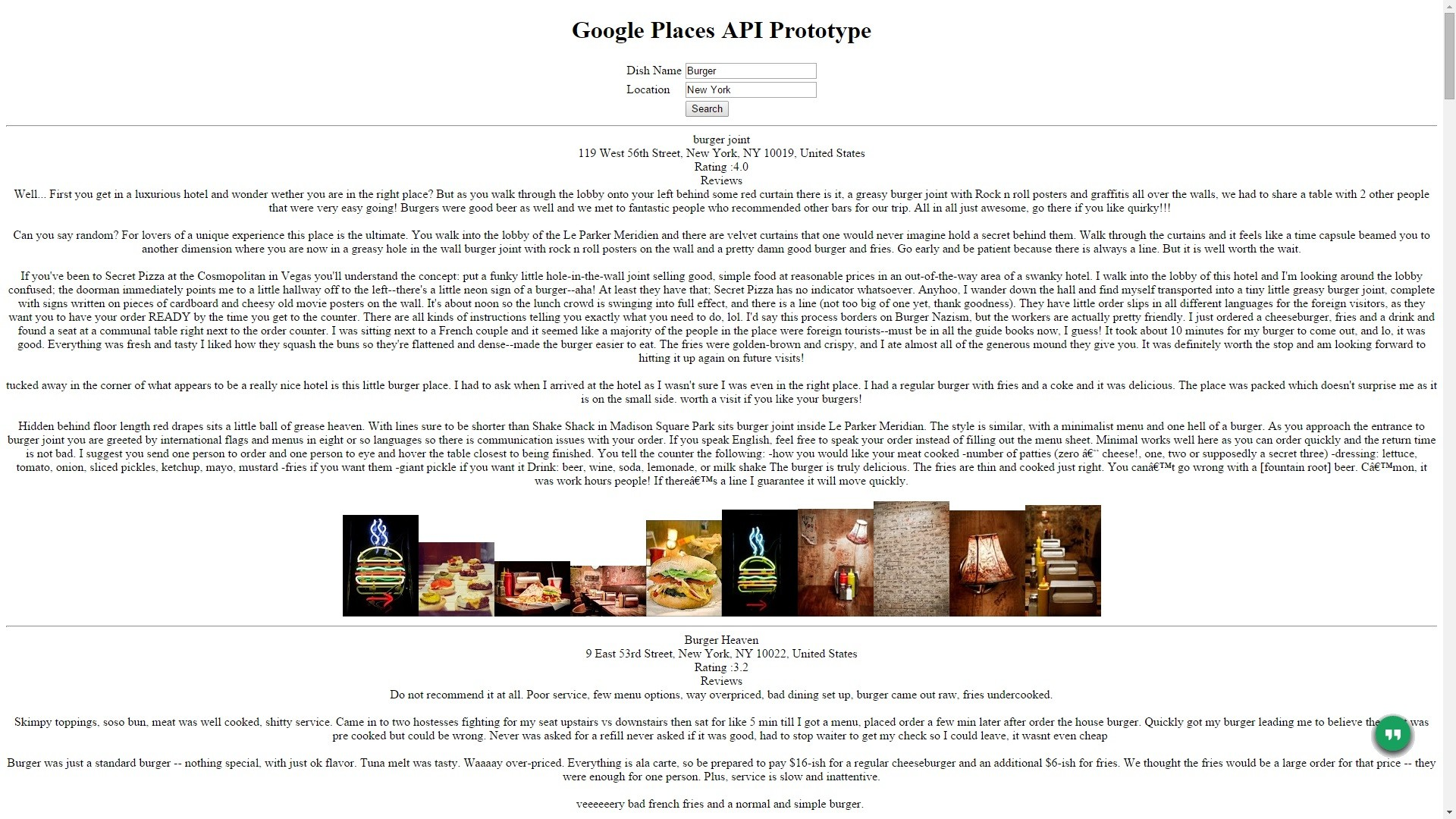 Integrate Google Places API for Text Search | Softronikx